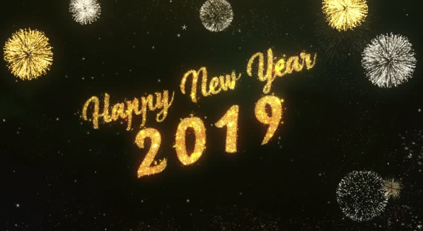 New Year, New Me! Welcome, 2019!