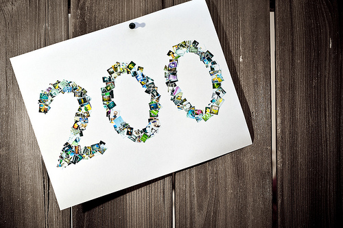 It's 200! Thousands To Go!
